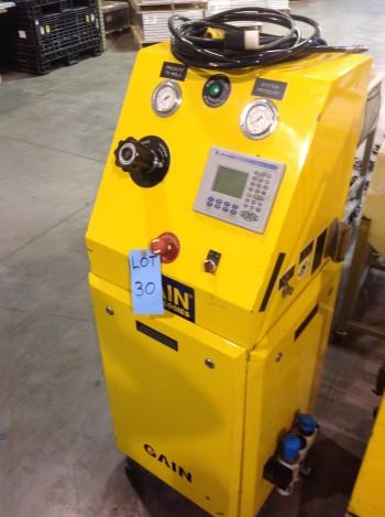 Gain Tech electric pnuematic pressure controller w/Maximum gas booster, Allen bradley plus 400 controls