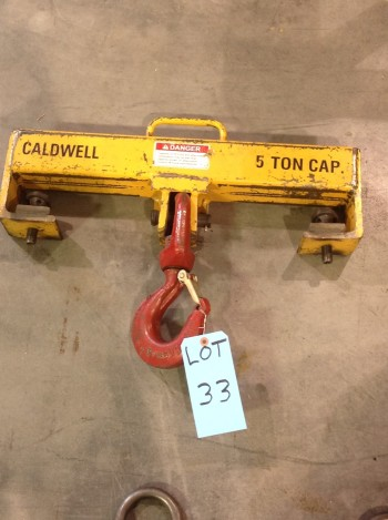 5 Ton cap. Caldwell spread Bar