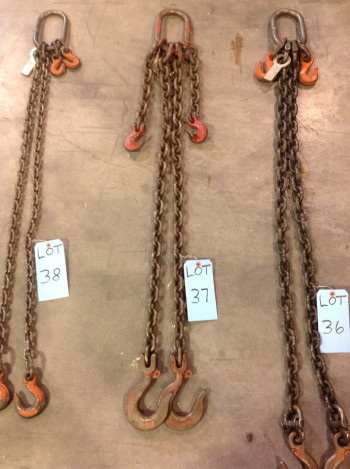 Lot of 2 Leg chains