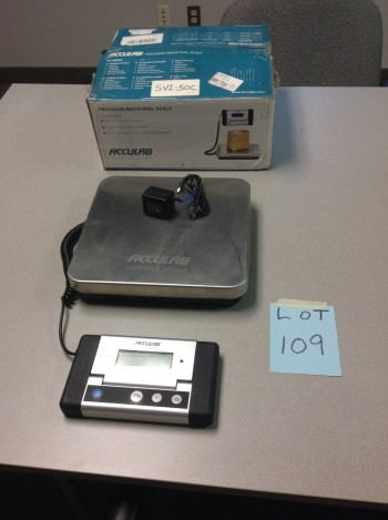 Acculab Sui-50C table top Precision Scale
