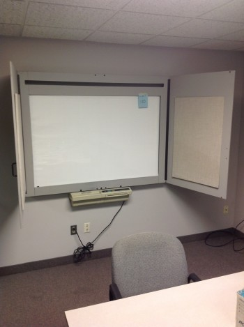Panasonic KX-520 Wall mount white board, Lights, Cuts