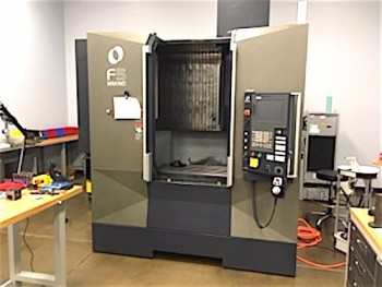2014 MAKINO F5 CNC Vertical Machining Center