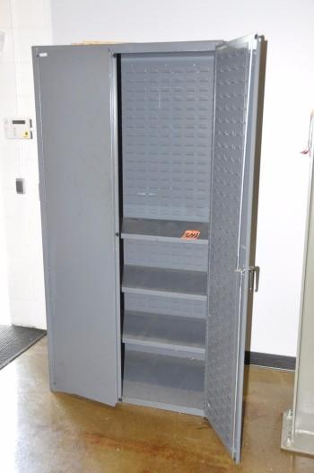 2-Door Bin Cabinet