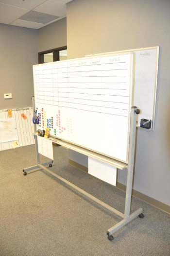 Portable Dry Erase Board
