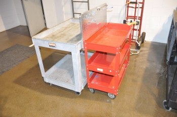 Lot-(2) Shop Carts
