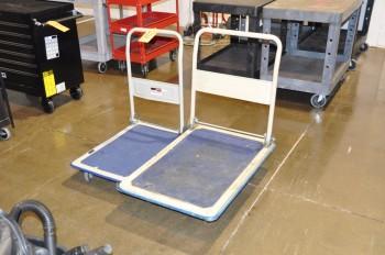 Lot-(2) Flat Carts