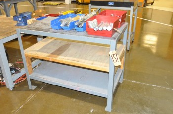 3-Shelf Work Table