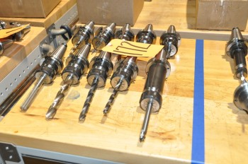 Lot-(10) ERICKSON CAT 40 Tool Holders