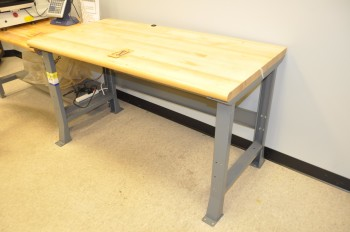 Hardwood Top Bench