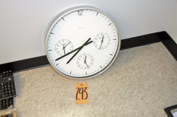 3-Zone Wall Clock
