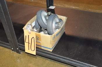 Lot-Caster Wheels in (1) Box