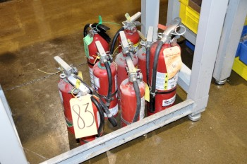 Lot-Fire Extinguishers
