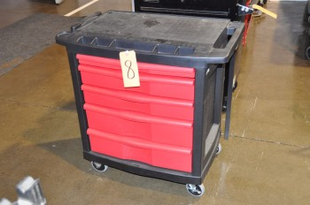 RUBBERMAID Tool Cart
