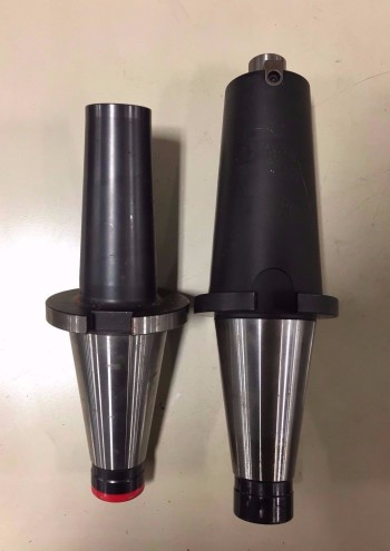 Slightly Uset Set of 2 CAT50 NMTB DEPO Holders