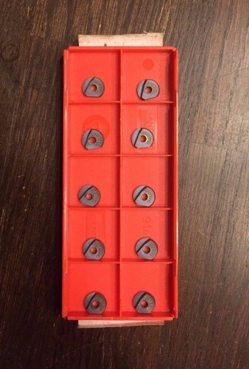 10 Pieces of Brand New Sandvik 8mm Ball Nose Inserts Part # R216F-0824E-L P10A