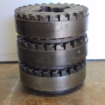 3 Sandvik Auto Indexable Left Hand Face Mills With 160mm Cutting Diameter