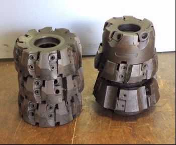 6 Sandvik Indexable Face Mills (3