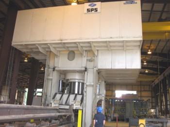 7860 Ton Siempelkamp Downacting Hydraulic Press
