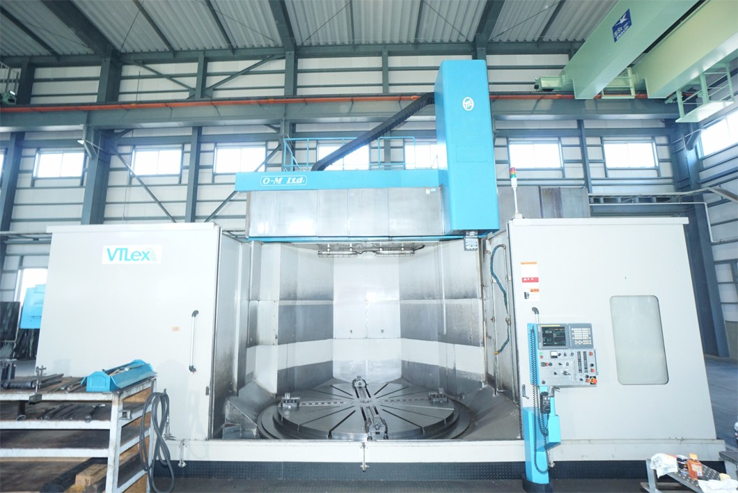 OM, Model VTLex 2500, CNC, Vertical Turning Center, new 2009