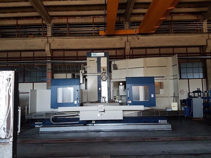 HNK HB 150 5 axis Horizontal boring mill, 2010