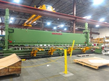 Haeusler FKB CNC Aerospace Forming Rolls