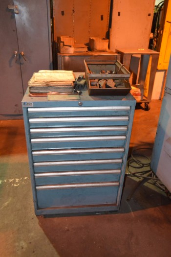 Amada Style Thick Turret Tooling, Lista Cabinet INCLUDED