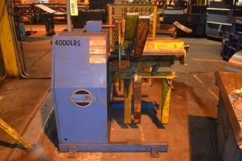 COE CPR-4018 4000 lbs. Roll Capacity Uncoiler