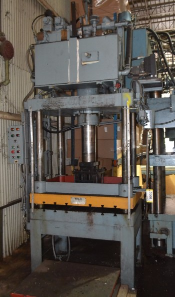 Modern 100 Ton Hydraulic 4-Post Press