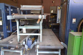 Lot of 7 Hytrol Conveyor Sections