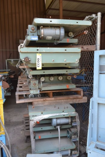 Lot of 23 Conveyor Sections