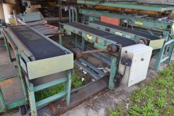 Lot of 8 Conveyor Sections