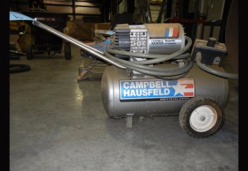 CAMPBELL HAUSFELD MT600103AJ, 7.5 GAL, Portable Horizontal Air Compressor