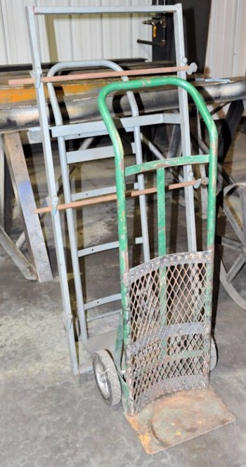 Lot-(2) 2-Wheel Hand Carts