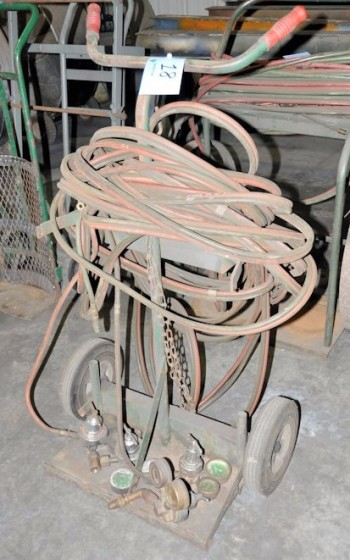 Oxygen/Acetylene Cart