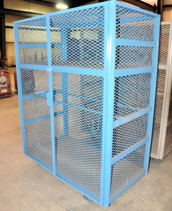 Enclosed Portable Shelving Unit