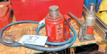 Lot-(2) Bottle Jacks