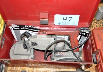 MILWAUKEE MODEL 6227, Heavy Duty Electric Band Saw,  S/N 674A495250139