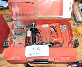 HILTI MODEL TE22, Rotary Hammer Drill with Case