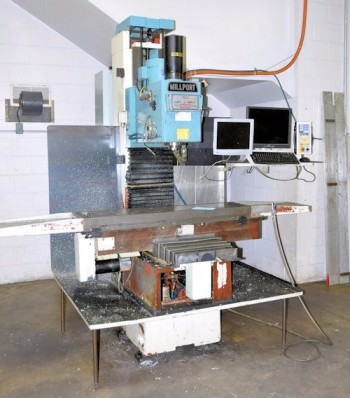MILLPORT 60B INV, CNC Vertical Milling Machine, S/N 1363,