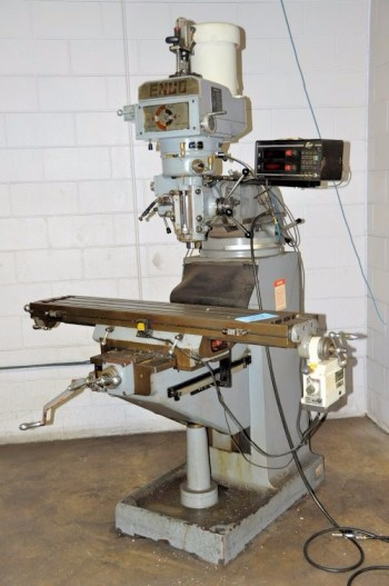ENCO 100-1588 R-8, Vertical Milling Machine, ENCO X-Y Readout