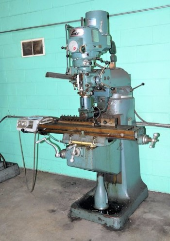 ENCO 100-1429 R-8, Horizontal Milling Machine, S/N 760178, 1-HP