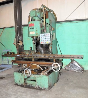 COMMANDER JOHANSON HF15, #50 Taper Drilling and Milling Machine,