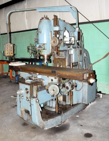 POLAMCO MODEL FYA41M, Vertical Milling Machine, S/N 91/52 (needs repairs)
