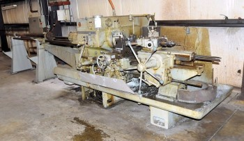 WARNER & SWASEY M2250, 6-Position Turret Lathe, with Bar Feed