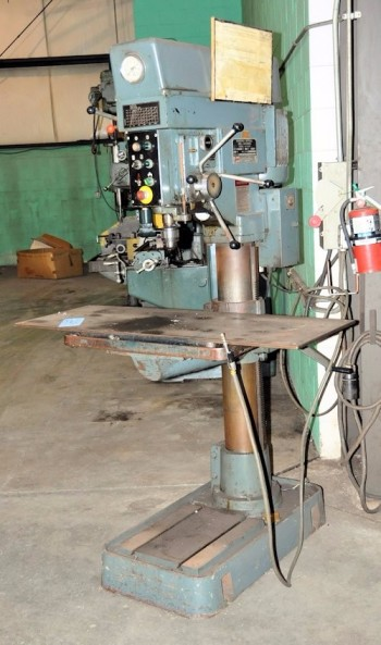 ENCO MODEL 127-3030, Floor Standing Drilling and Tapping Machine, S/N 3294