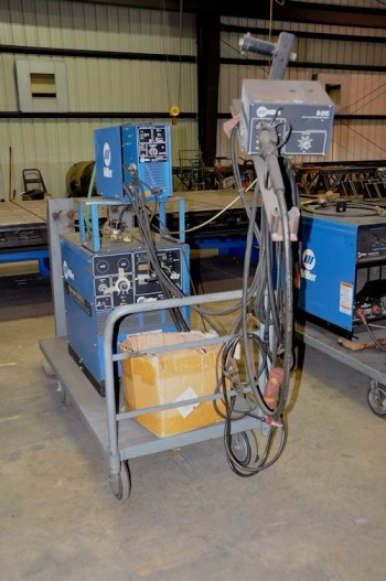 MILLER MODEL SM-3000, SHOPMASTER 300 AC/DC Welding Power Source