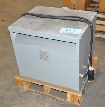 POWERTRAN 34-KVA Up-Converting Transformer, 460V-575V