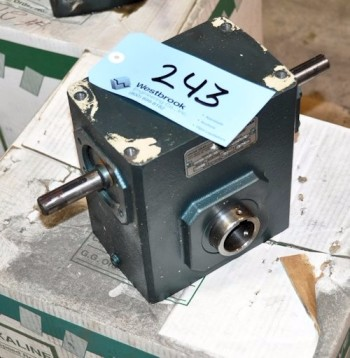 GROVE GEAR MODEL H226-1A, 10:1 Speed Reducer