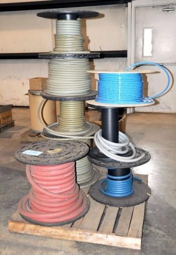 Lot-Air Hose Spools on (1) Pallet