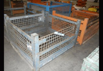 Lot-(4) Wire Baskets